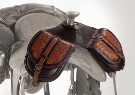 Satteltaschen für das Pferd