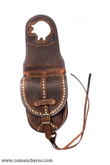 Satteltasche Western mit Nieten