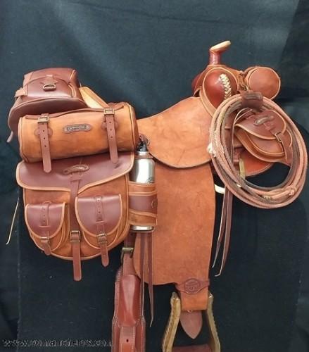 Western Texas Sattel