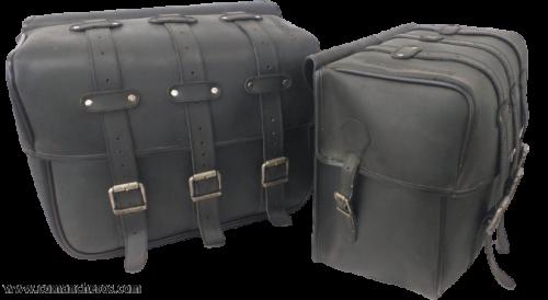 Satteltasche für Motorräder