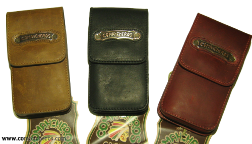 Handyhalter aus Leder