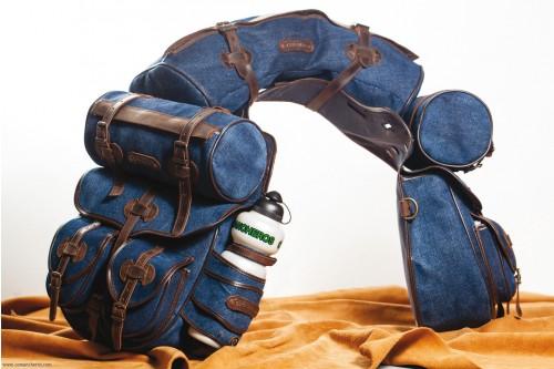 Set Satteltaschen Trekking Jeans