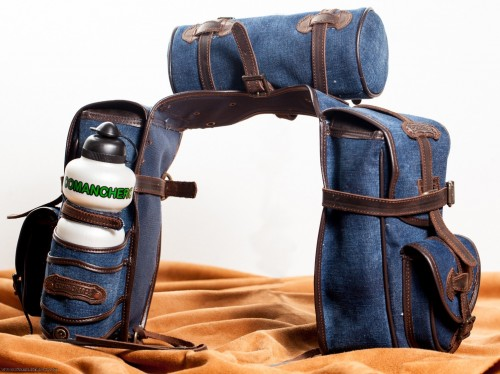 Satteltaschen Trekking Jeans