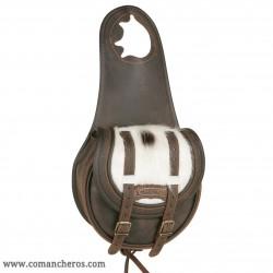 Horn satteltasche Comancheros aus Leder