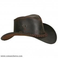 Country-Stil Hut mit zopf
