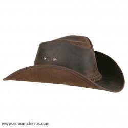 Westernhüte aus Leder