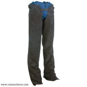 Chaps Basis aus Wildleder