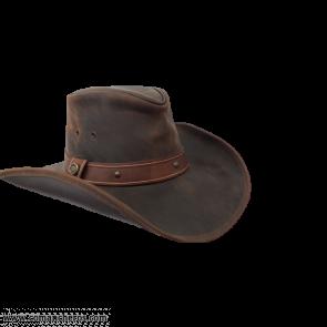 Cowboyhut mit breiter Krempe