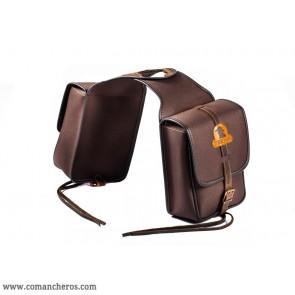Doppelseitige eckige Satteltaschen