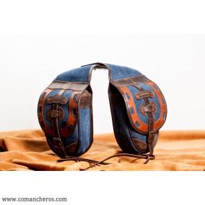 Doppelseitige Satteltaschen für Westernsattel