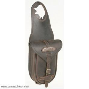 Hornsatteltasche aus Leder