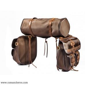Komplette Satteltaschen mit Taschen und Rolle