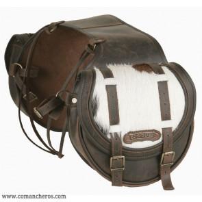 Mittlere hintere Satteltasche mit Fell