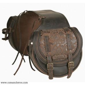Mittlere Satteltasche Comancheros für Pferde-Trekking  für Hinten