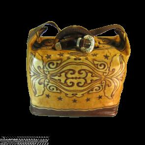 Reisetasche aus Westernleder
