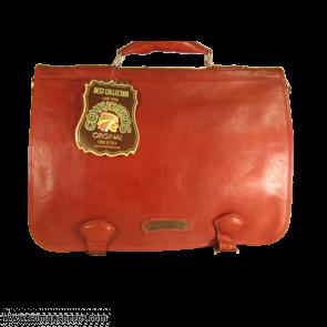 Rote Bürotasche
