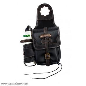 Satteltasche einzeln mit Feldflasche