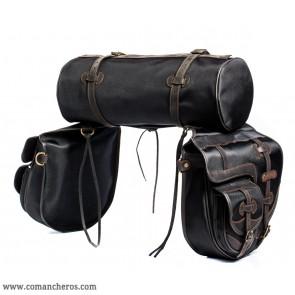 Satteltasche mit Tasche und Rolle