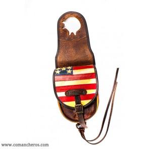 Satteltasche vorn Amerika