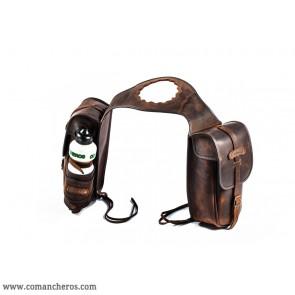 Satteltaschen Buckaroo Sattel mit Wasserflasche