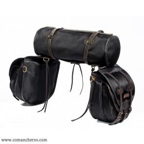 Satteltaschen Doppeltasche mit Rolle