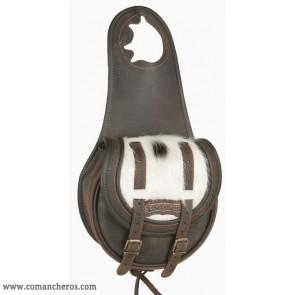 Satteltaschen für das Pferd mit zwei Riemen