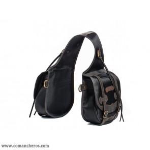 Satteltaschen schwarz mittlerer Größe aus Cordura