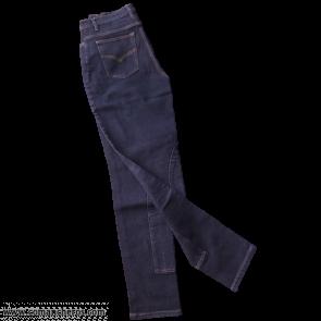 Schwarze Jeans mit Verstärkung
