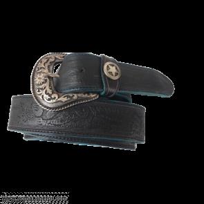 Schwarzer Cowboys Gürtel